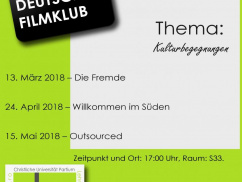German Film Club 2017/18/II.