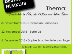German Film Club 2018/19/I.